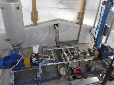 Línea de producción paneles sandwich - Adecuación de máquinas - Almacenamiento