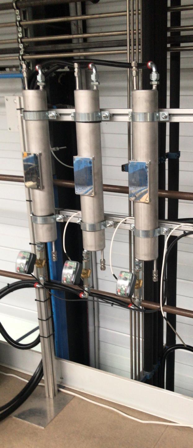 Sistemas de producción paneles sandwich – Adecuación de máquinas – Termorregulación de alta presión