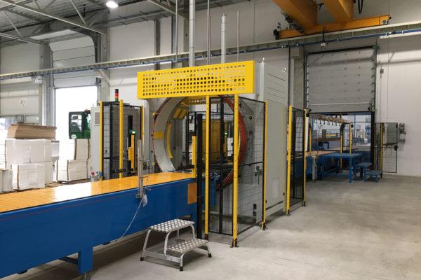 Linee di produzione pannelli sandwich – Impianti – Imballatrice