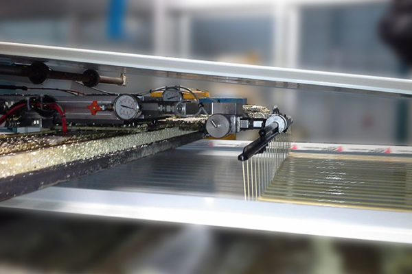 sandwich panel line upgrades high pressure blending of additives twister