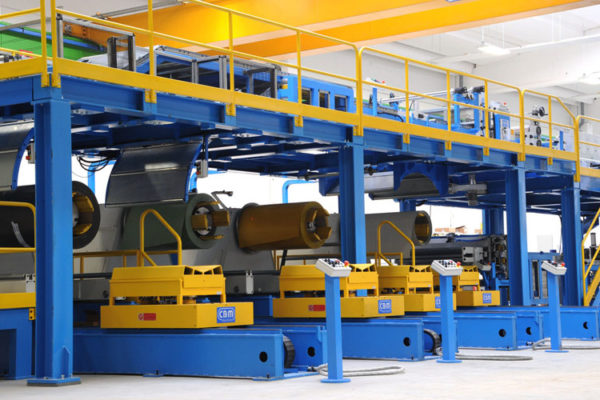 sandwich panel production line - First srl